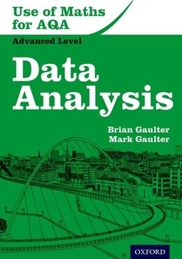 Book Use of Maths for Aqa Data Analysis by Brian Gaulter