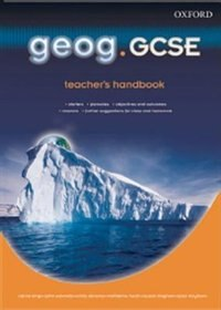 Book geog.GCSE: Teachers Handbook by Anna King