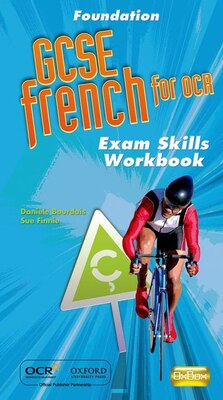 Book GCSE French for OCR Foundation Exam Skills Workbook and CD by Daniele Bourdais
