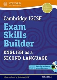 Book Cambridge IGCSE Exam Skills Builder: English as a Second Language by Oxford