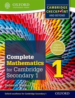 Book Oxford International Maths for Cambridge: Secondary 1 Student Book 1: For Cambridge Checkpoint and… by Deborah Barton