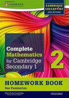 Oxford International Maths for Cambridge Secondary: 1 Homework Book 2 (Pack of 15): For Cambridge…