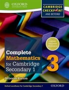 Oxford International Maths for Cambridge: Secondary 1 Student Book 3: For Cambridge Checkpoint and…