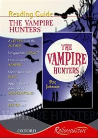 Book Rollercoasters: Vampire Hunters Reading Guide by Julia Waines