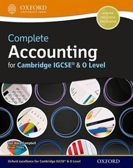 Book Complete Accounting for Cambridge O Level and IGCSERG by Brian Titley