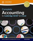 Complete Accounting for Cambridge O Level and IGCSERG