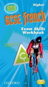 Book GCSE French for AQA Higher Exam Skills Workbook Pack by Daniele Bourdias