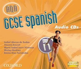 Book GCSE Spanish for AQA Audio CDs by Isabel Alonso de Sudea