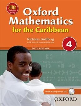 Book Oxford Mathematics for the Caribbean 4 by Nick Goldberg
