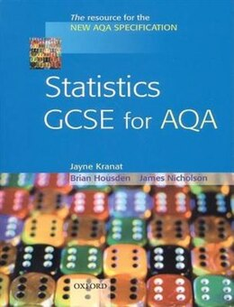 Book Statistics GCSE for AQA by Jayne Kranat