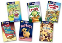 Oxford Reading Tree: All Stars: Pack 2 Pack of 6 (6 books, 1 of each title)