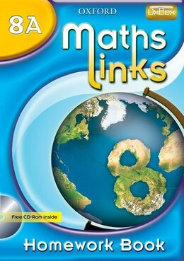 Book MathsLinks: 2 Y8 Homework Book A by Ray Allan