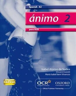 Book Animo: OCR Edition Students Book by Isabel Alonso de Sudea