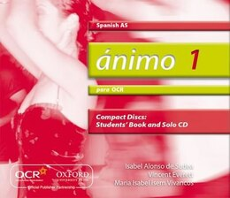 Book Animo: Para OCR AS Audio CDs by Isabel Alonso de Sudea