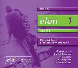 Book Elan: 1 Pour OCR AS Audio CDs by Daniele Bourdais