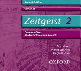 Book Zeitgeist: 2 A2 Audio CDs by Morag McCrorie