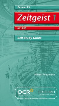 Zeitgeist: AS Self-Study Guide for OCR with CD