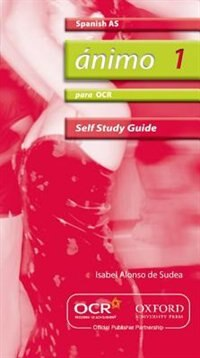 Animo: AS Self-Study Guide for OCR with CD