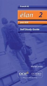 Book Elan: A2 Self-Study Guide Pour OCR with CD by Marian Jones