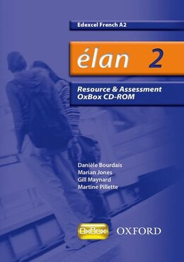 Book Elan: 2 A2 Edexcel Resource and Assessment CD by Daniele Bourdais