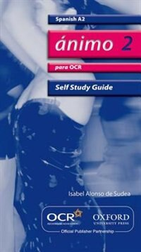 Book Animo: A2 Self-Study Guide for OCR with CD by Isabel Alonso de Sudea