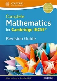 Book Mathematics: IGCSE Revision Guide by David Rayner