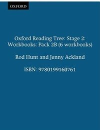 Oxford Reading Tree: Stage 2: Workbooks Pack 2B (6 workbooks)