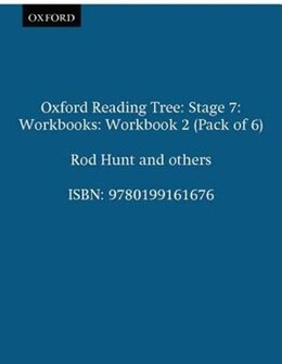 Book Oxford Reading Tree: Stage 7: Workbooks Workbook 2 (Pack of 6) by Rod Hunt