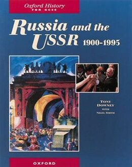 Book Russia and the USSR, 1900-1995 by Tony Downey