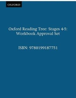 Book Oxford Reading Tree: Stages 4-5 Workbook Approval Set by Roderick Hunt