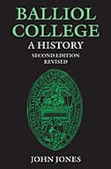 Book Balliol College:  A History, Second Edition: REISSUE, WITH REVISIONS by John Jones