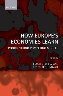 Book How Europes Economies Learn: Coordinating Competing Models by Edward Lorenz