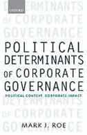 Book Political Determinants of Corporate Governance: Political Context, Corporate Impact by Mark J. Roe