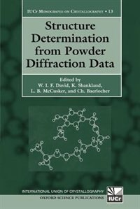 Book Structure Determination From Powder Diffraction Data by W.I.F. David