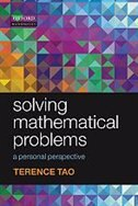 Book Solving Mathematical Problems: A Personal Perspective by Terence Tao
