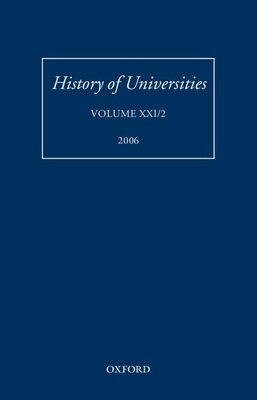Book History of Universities: Volume XXI/2 by Mordechai Feingold