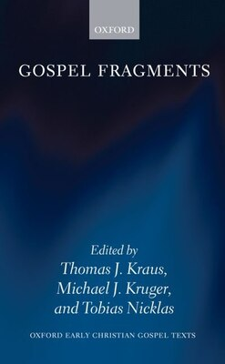 Book Gospel Fragments by Tobias Nicklas