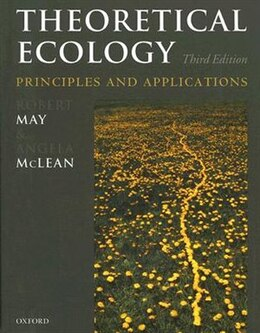 Book Theoretical Ecology: principles and applications by Robert May