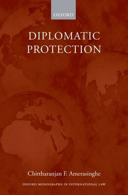 Book Diplomatic Protection by Chittharanjan F. Amerasinghe