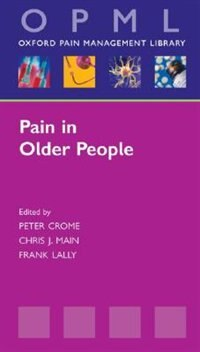 Book Pain In Older People by Peter Crome