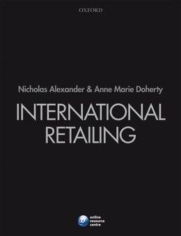 Book International Retailing by Nicholas Alexander