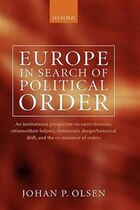 Europe in Search of Political Order: An Institutional Perspective on Unity/Diversity, Citizens…