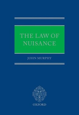 Book The Law of Nuisance by John Murphy