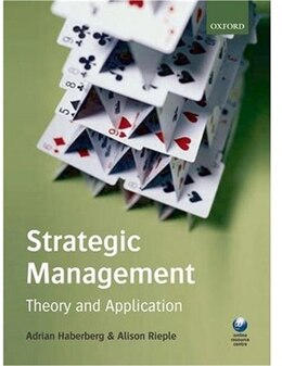 Book Strategic Management:: Theory and Application by Adrian Haberberg