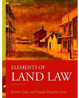 Book Elements of Land Law by Kevin Gray