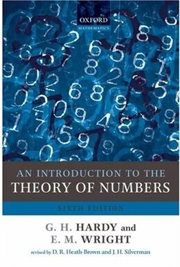 Book An Introduction to the Theory of Numbers by Godfrey H. Hardy