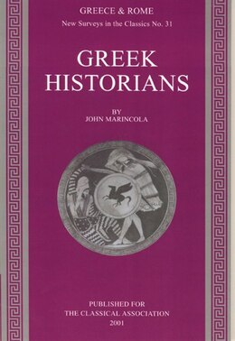 Book Greek Historians by John Marincola
