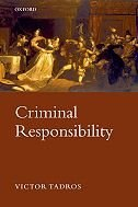 Book Criminal Responsibility by Victor Tadros