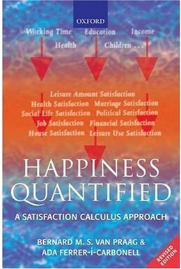 Book Happiness Quantified: A Satisfaction Calculus Approach by Bernard M. S. van Praag