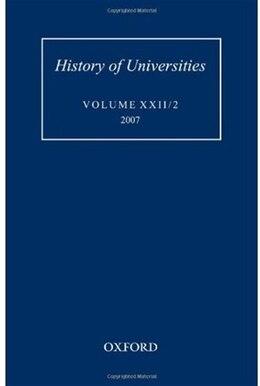 Book History of Universities: Volume XXII/2 by Mordechai Feingold